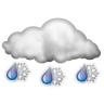 Rain/Snow Mix